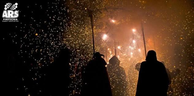 En Julio Escaldàrium, la Fiesta del Fuego y del Agua